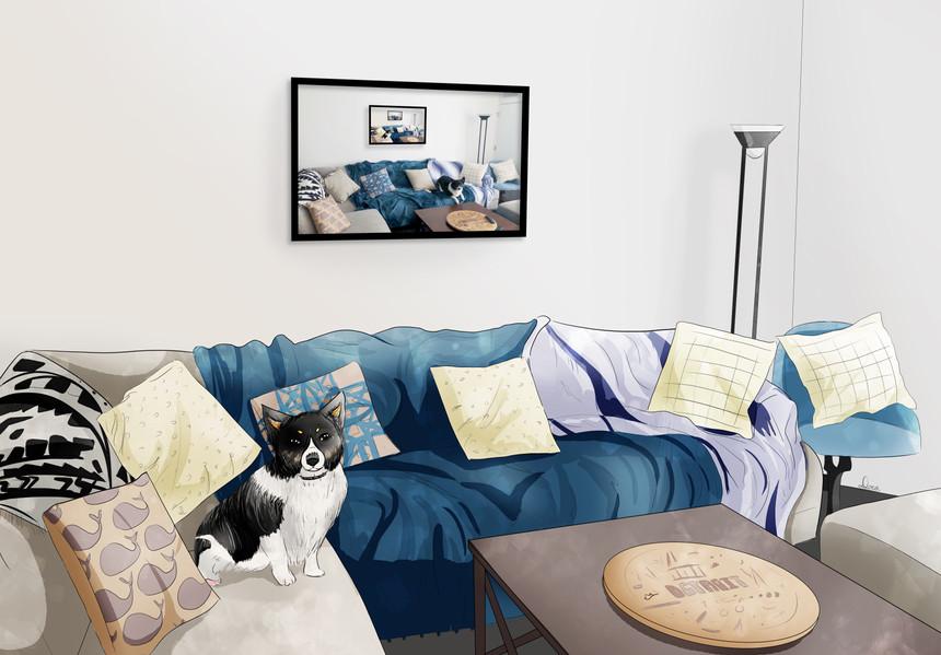 Benji's Living Room