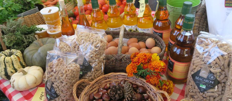 Au marché gourmand de Chaveignes