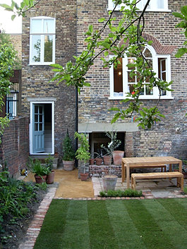 Jesmond gardens garden design newcastle townhouse garden for Garden design newcastle