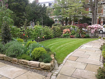 Jesmond gardens garden design newcastle edwardian garden for Garden design newcastle