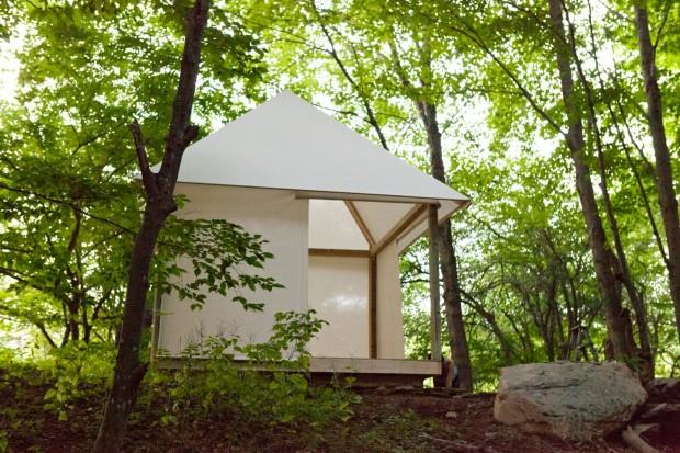 Forest Pavilion, Eco_Hack 2014
