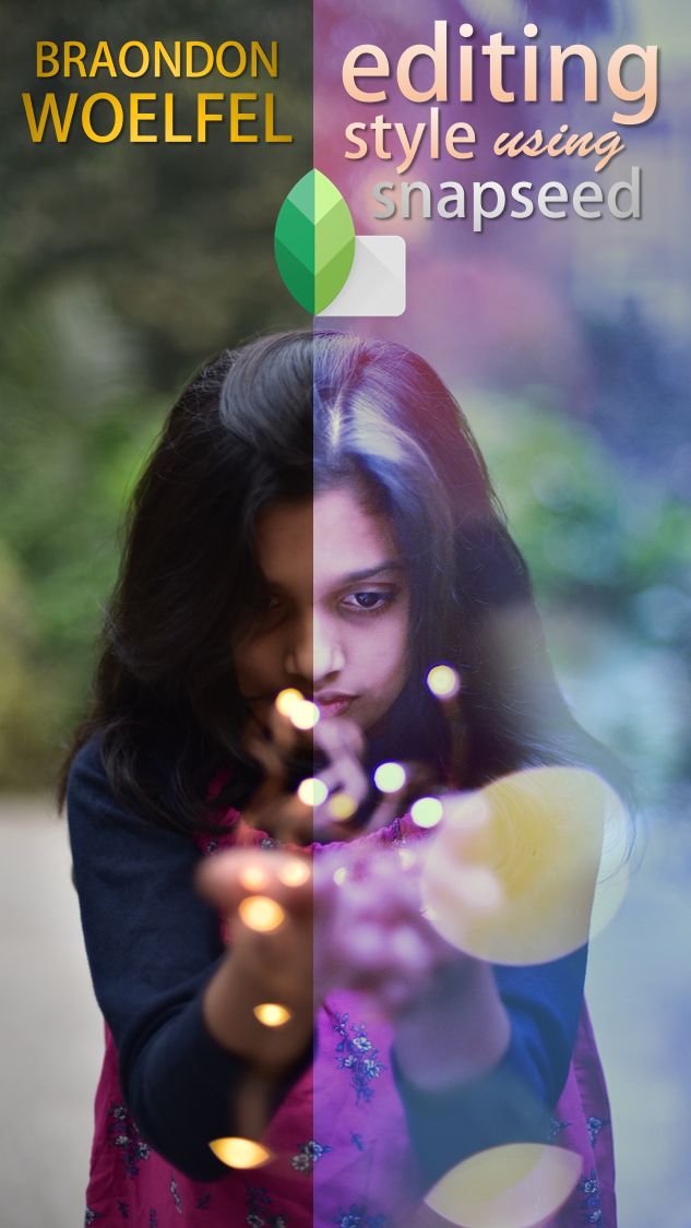 Before (left) to After (right) - Brandon Woelfel style editing using Snapseed