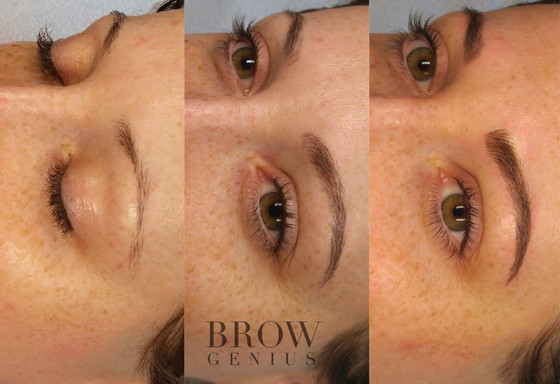 Permanent Makeup: A Two-Step Process