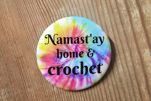 Namast'ay Home & Crochet Button