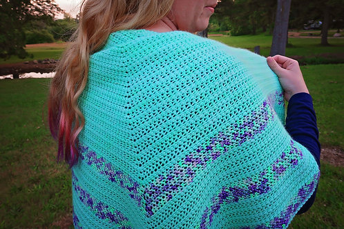 Marble Springs Shawl Pattern