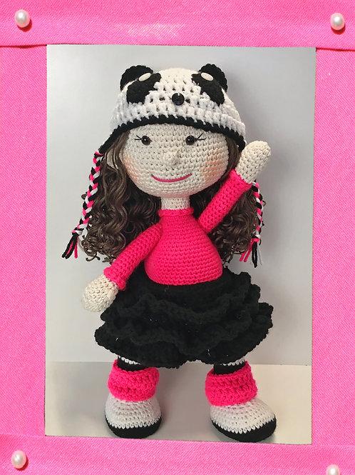 Maggie Crochet Doll Pattern