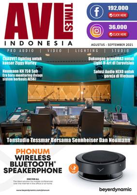 Majalah Digital AVL TIMES INDONESIA Agustus-September 2021