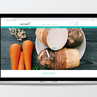 Vastitude - Ecommerce Website