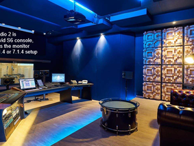 Neumann Monitors for Immersive Audio at Bauer Studios