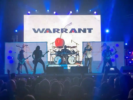 ChamSys QuickQ 20 helps Kyle Bell adapt for Warrant and Firehouse show