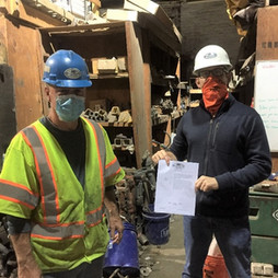 SEPTEMBER 2020 SAFE EMPLOYEE OF THE MONTH: JIM ROBERTS