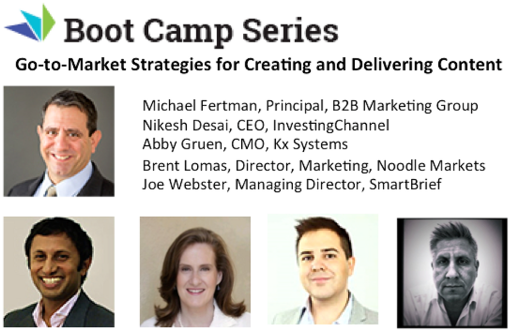 Go-to-Market Strategies for Creating and Delivering B2B Content
