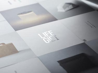 防災用品のギフトブック LIFE GIFT