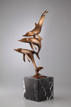 Artist Ken Shutt - Porpoises