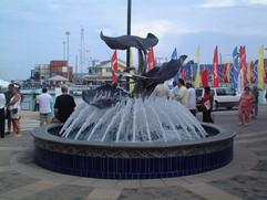 Stingray Fountain