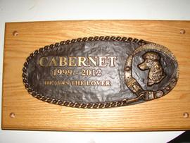 Cabernet Memorial Plaque