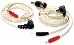 Cable dual para electrodos