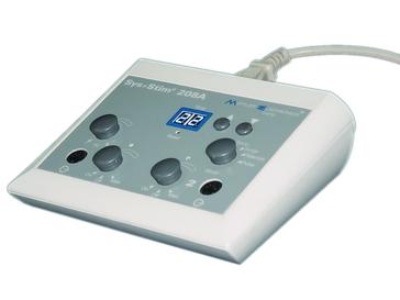 Electroestimulador neuromuscular de 2 canales portátil Sys Stim 208A marca Mettler de venta en Bruce Médica