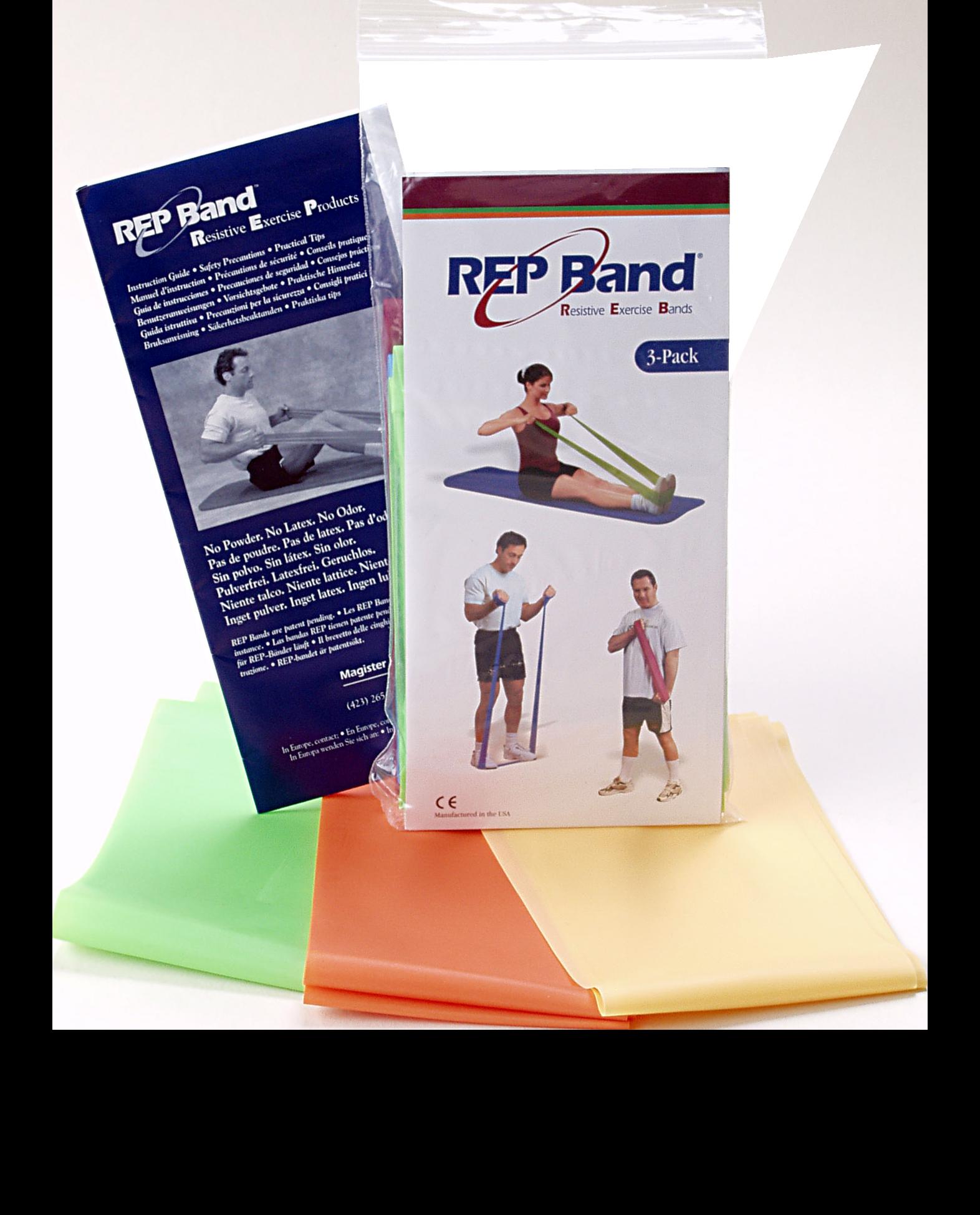Kit de 3 Rep Band para ejercicio