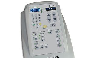 Electroestimulador con corriente interferencial Sys Stim 228 marca Mettler de venta en Bruce Médica