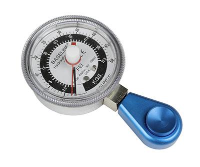 Dinamómetro hidráulico de pinza