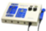 Unidad de terapia combinada Sonicator Plus 994 de 4 canales de electroestimulación y 1 canal de ultrasonido marca Mettler de venta en Bruce Médica
