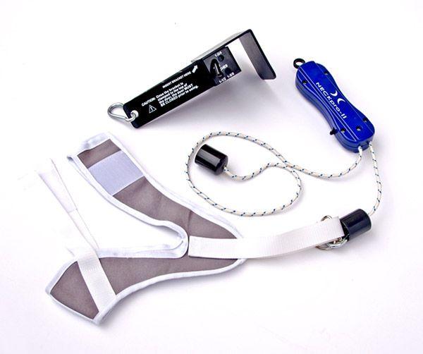 Tracción cervical mecánica manual