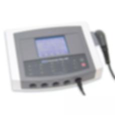 Unidad de terapia combinada Sonicator Plus 940 de 4 canales de electroterapia y 1 canal de ultrasonido marca Mettler de venta en Bruce Médica