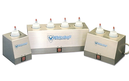 Calentadores para 1, 2 o 4 botellas de gel marca Whitehall de venta en Bruce Médica