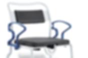 Silla de ducha bariátrica Dallas de Rebotec de venta en Bruce Médica
