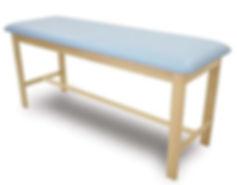 Mesa de madera para tratamientos de venta en Bruce Médica