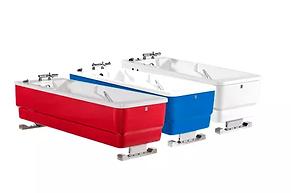 Tina de baño de cuerpo entero eléctrica de altura variable Comfortline de TR de venta en Bruce Médica