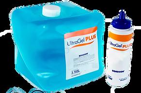 Gel para ultrasonido Plus azul marca Bordson de venta en Bruce Médica