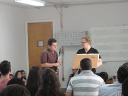 Master class com Wenzel Fuchs