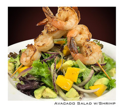 Salad w Shrimp