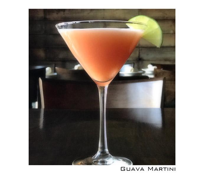 Guava Martini