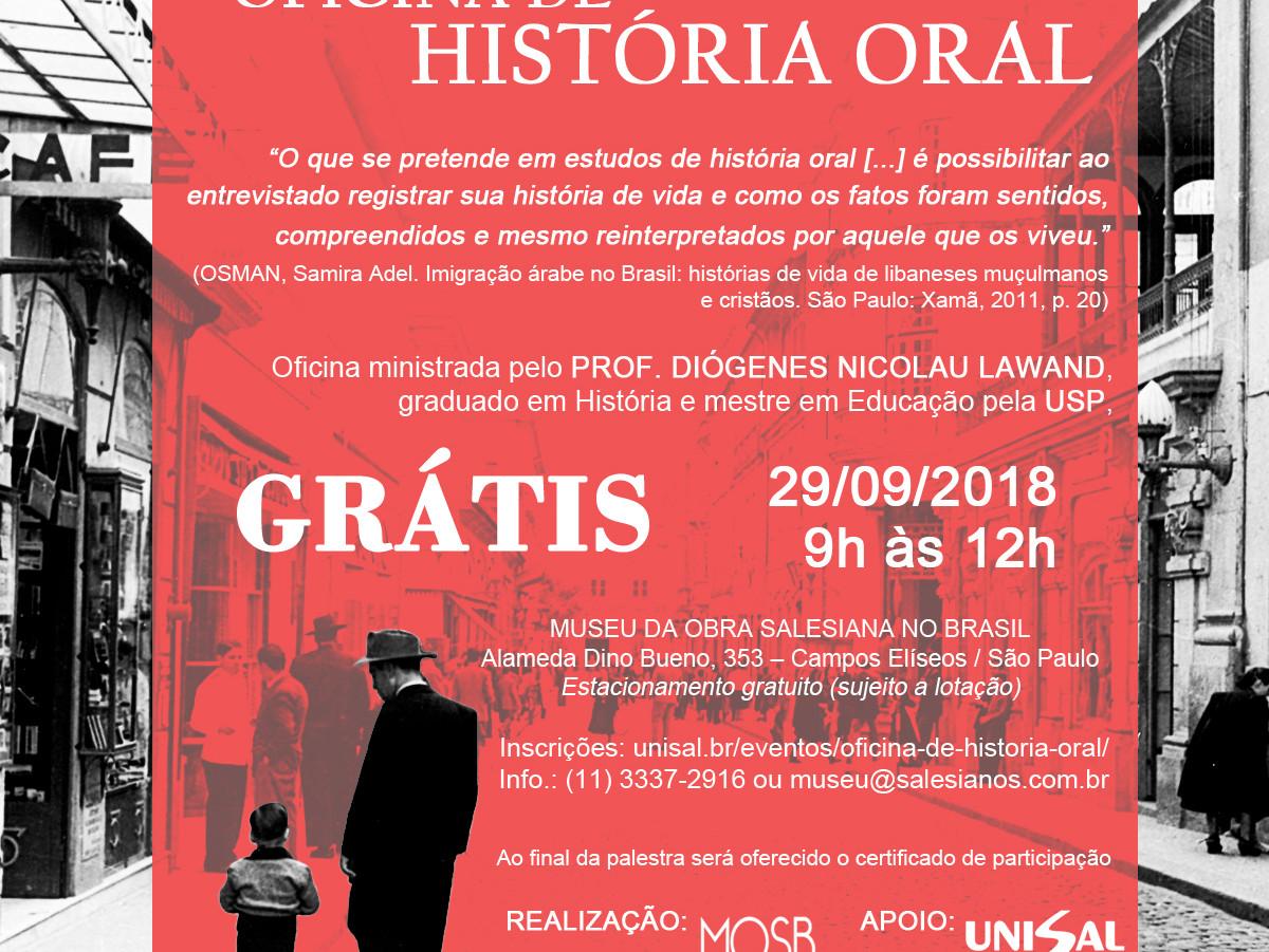 Oficina de História Oral