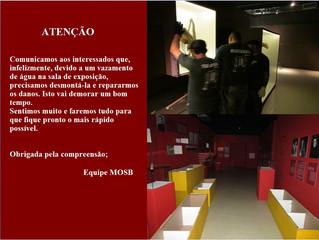 Prorrogação do período de fechamento do museu para visitação