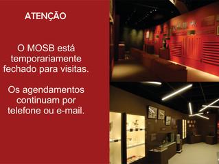 Comunicado: museu fechado