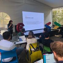 Design Sprint training para Google for Startups Accelerator - CDMX 2020