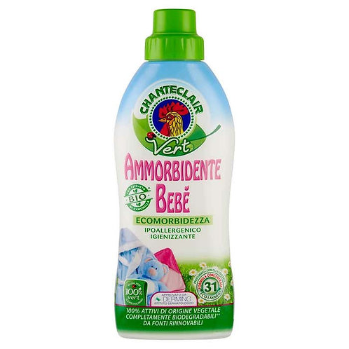 CHANTECLAIR vert ammorbidente BEBE' ml625 Linea BABY