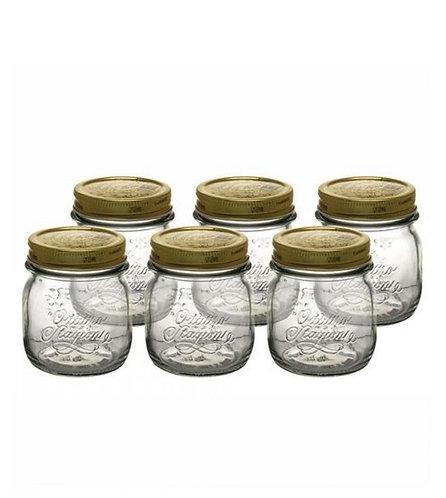 Vaso Quattro Stagioni 25cl (set 6 pezzi completi di coperchio)