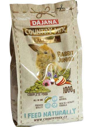 Rabbit junior cibo coniglietti pellet 1 kg.