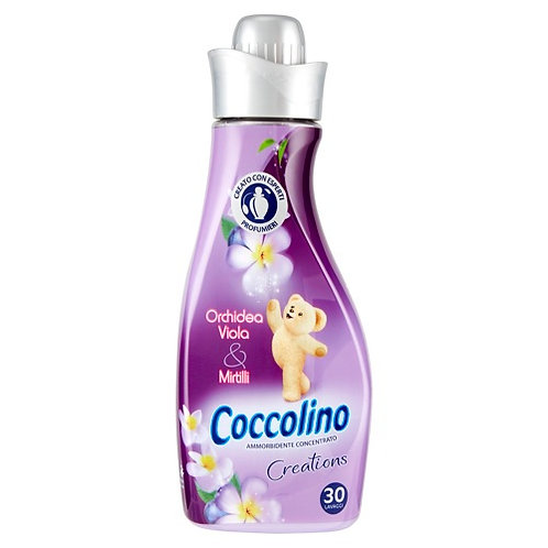 COCCOLINO CREATIONS AMMORBIDENTE CONCENTRATO  ORCHIDEA VIOLA E MIRTILLI 750 ml