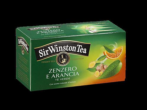 SIR WINSTON TEA TE' VERDE ZENZERO e ARANCIA