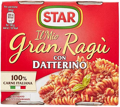 Sugo Gran Ragù Star con Pomodoro Datterino  180 gr. x 2