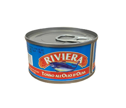 Tonno All'Olio d'Oliva Riviera 80gr
