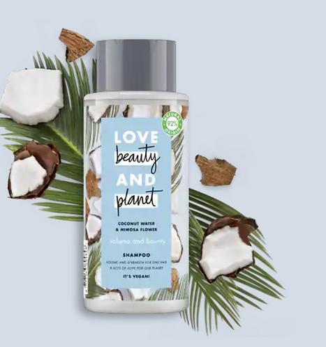 Love Beauty & Planet Shampoo Capelli Fini 400ml