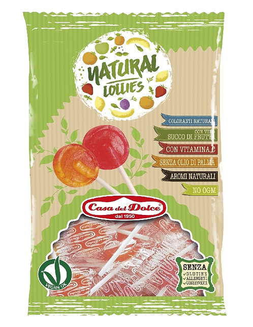 NATURAL LOLLIES LECCA LECCA PIATTO BUSTA 108 GR