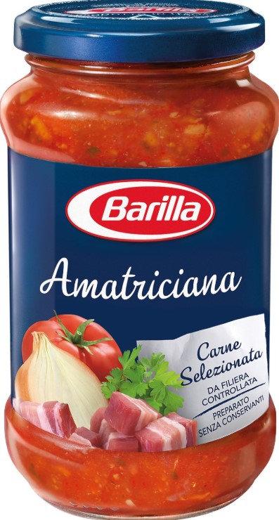 Barilla Sugo all'Amatriciana, con Cipolla e Pancetta Rosolata 400 gr